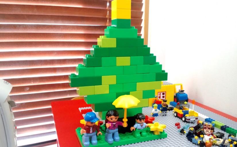 レゴのツリー(デュプロ)