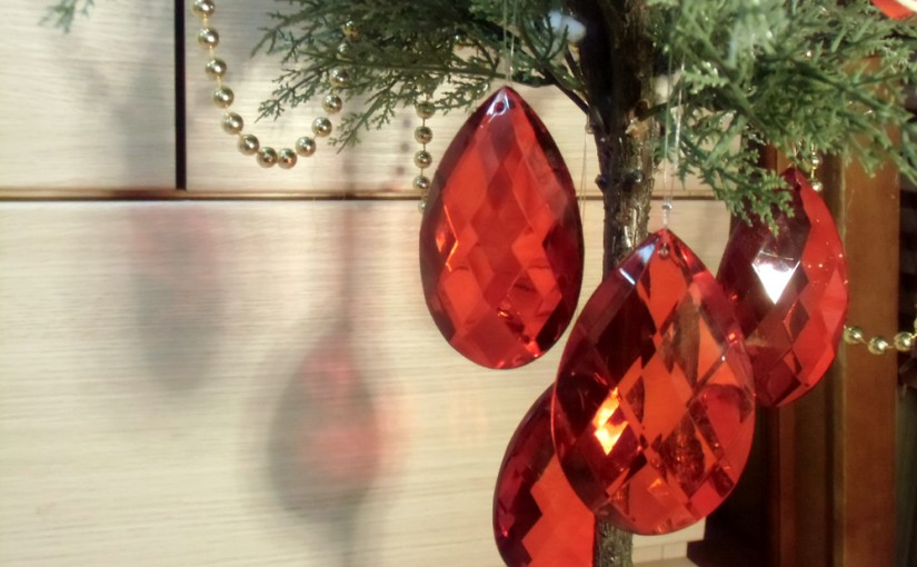 今年のクリスマスツリー