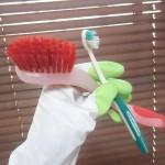 掃除に使った道具