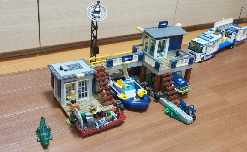 [LEGO CITY]沼地のポリスステーション