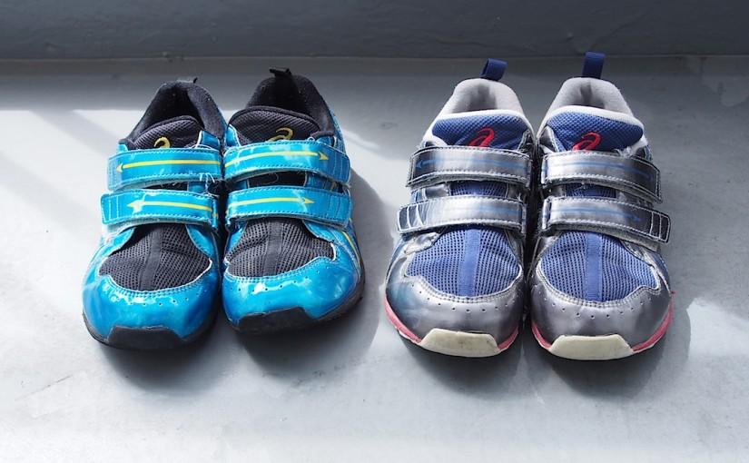アシックスの子供靴、10ヶ月使用感