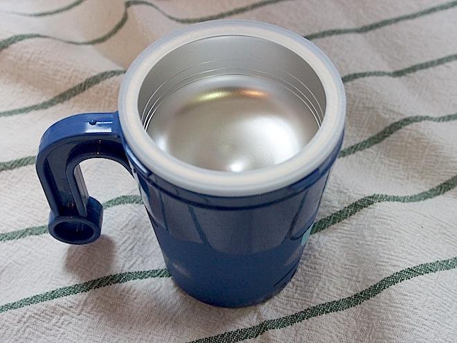 アルミカップをセット