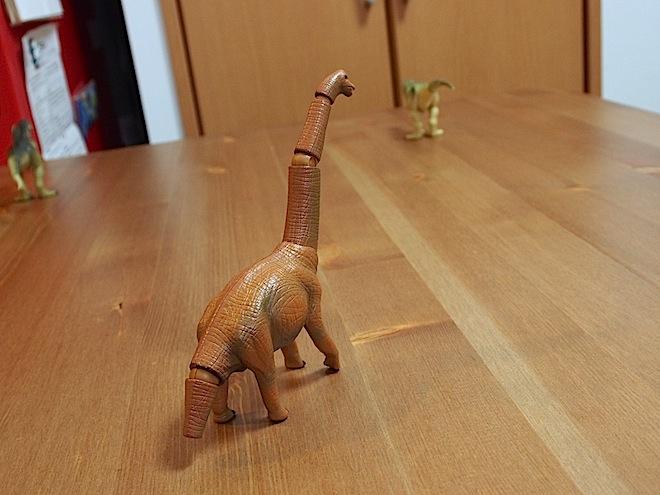 アニアのブラキオサウルス