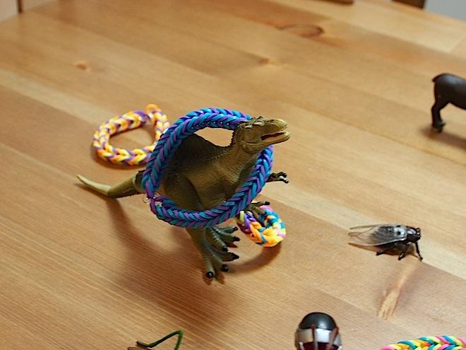 スピノサウルス、ゲット