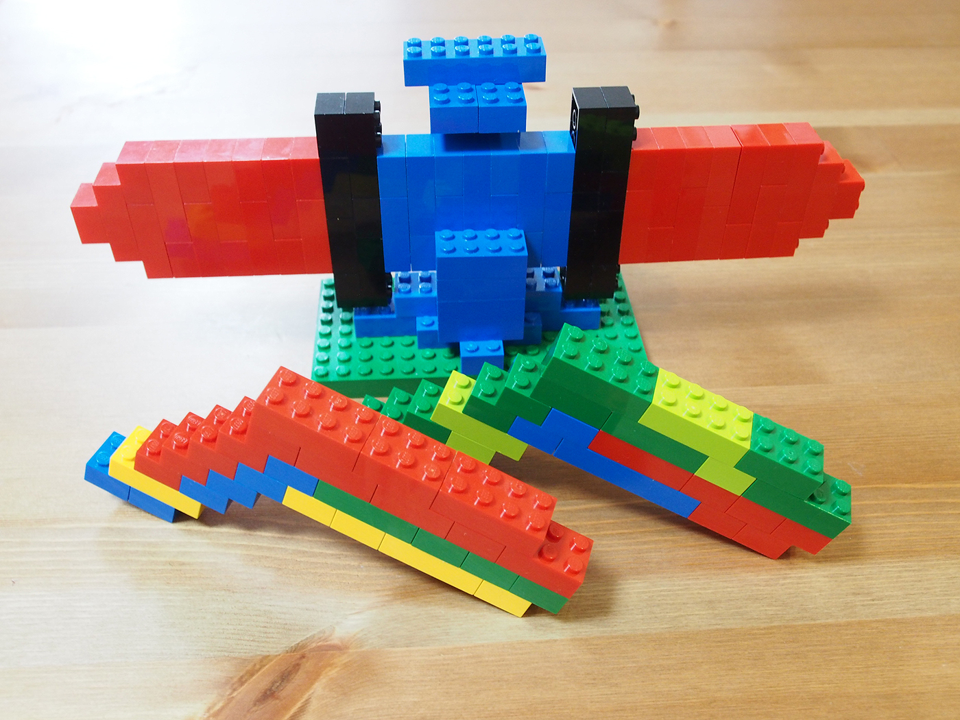 剣と銃をレゴでつくった