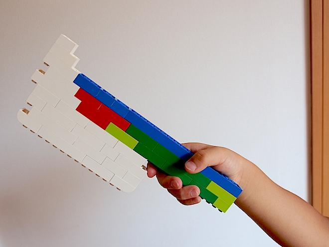 レゴのオノ 反対から