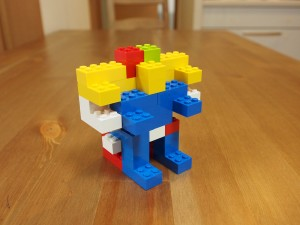 基本ブロックで作る、タンクマン
