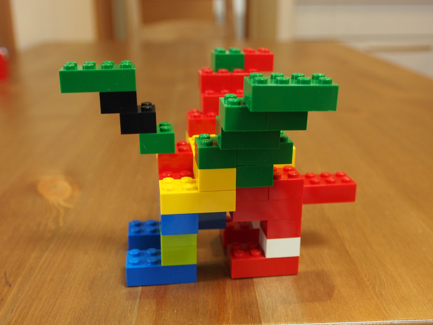 基本ブロックで簡単に作れるドラゴン