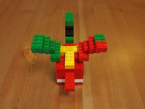 基本ブロックで作るドラゴン、後ろ
