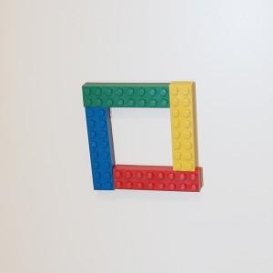 玄関レゴ、ロの字
