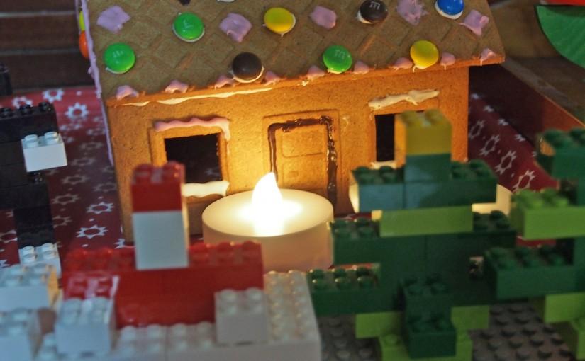 お菓子の家を飾った、2016クリスマス