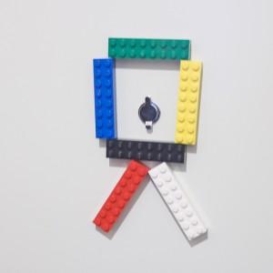 玄関レゴマグネット「カメラ」