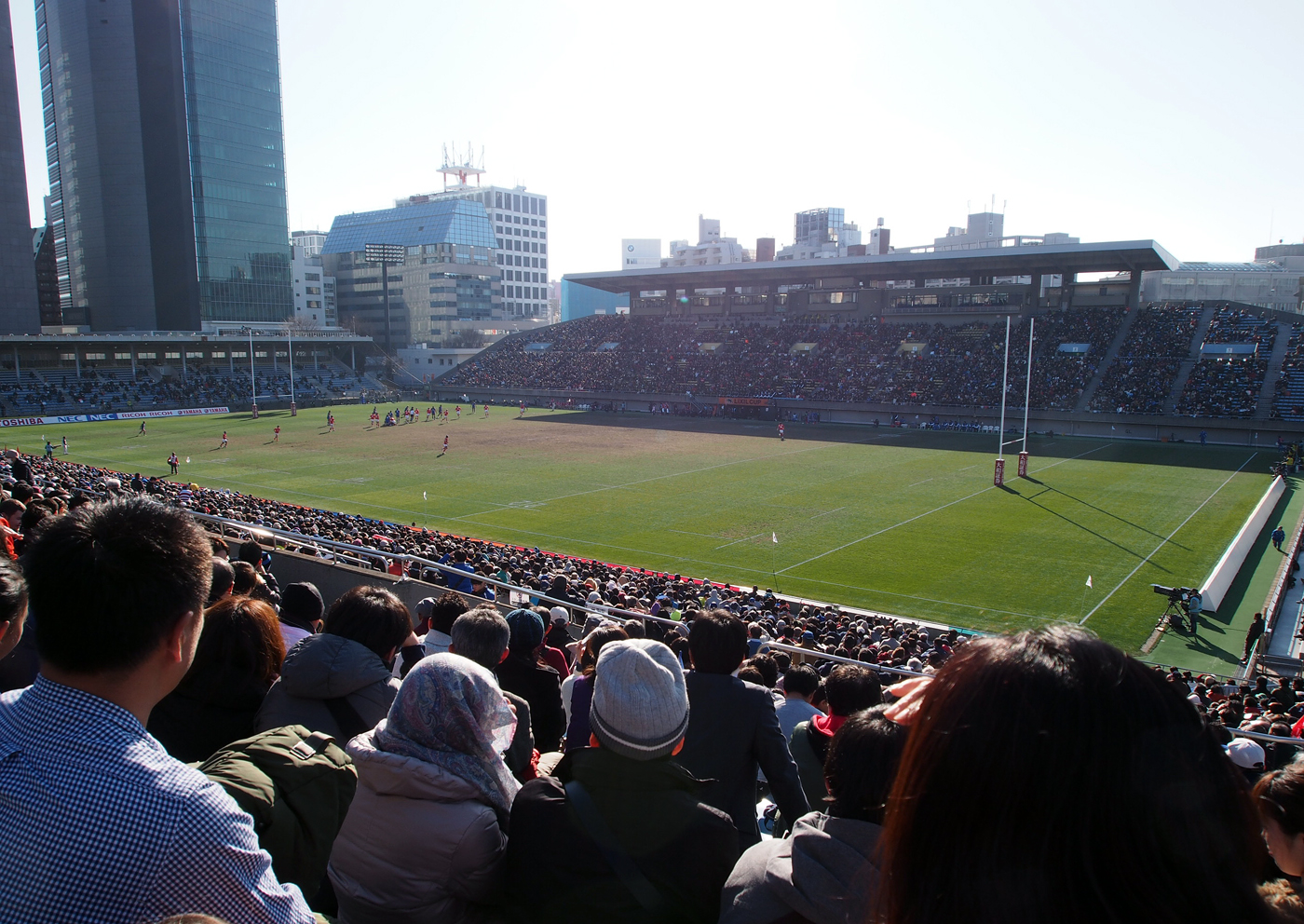 ラグビー観戦1/16/2016