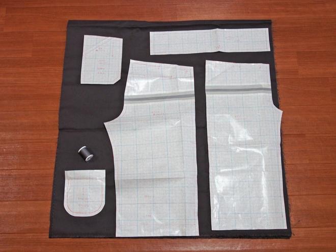 ズボン140サイズ-裁断