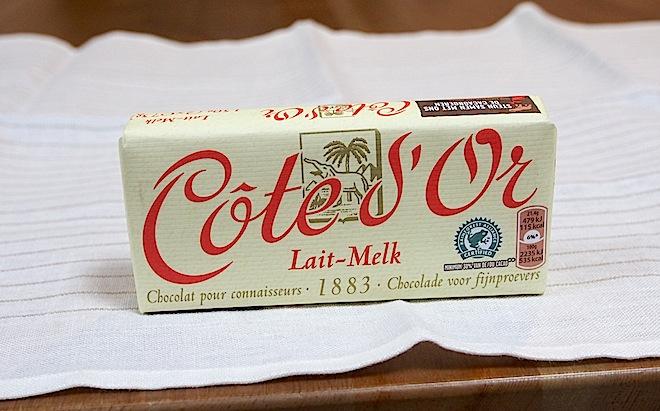コートドール、タブレット・ミルク