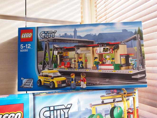 [LEGO]CITY トレインステーション、開けてみました