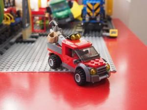 どろぼうのトラック