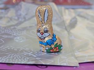 ウサギのチョコレート、リゲライン