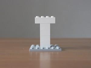 レゴ、アルファベット、T