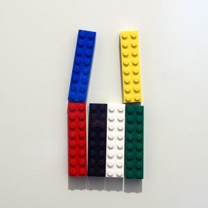 玄関レゴ、クワガタ