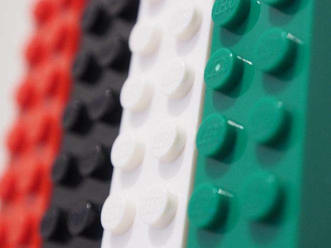 レゴのマグネット、アップ