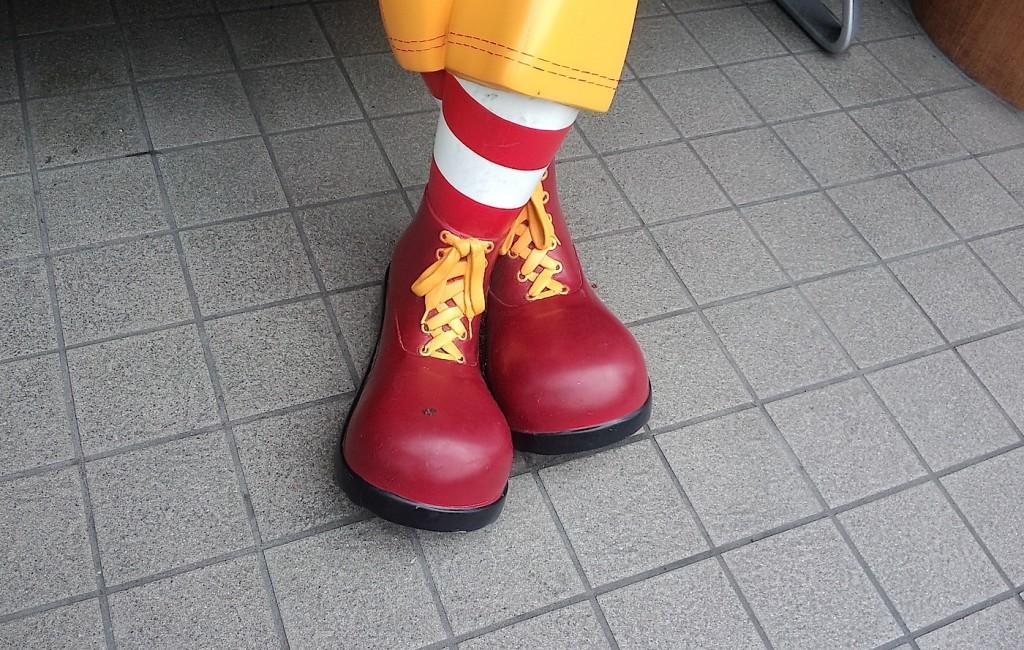 ドナルドの靴