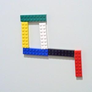 玄関レゴ、カギ