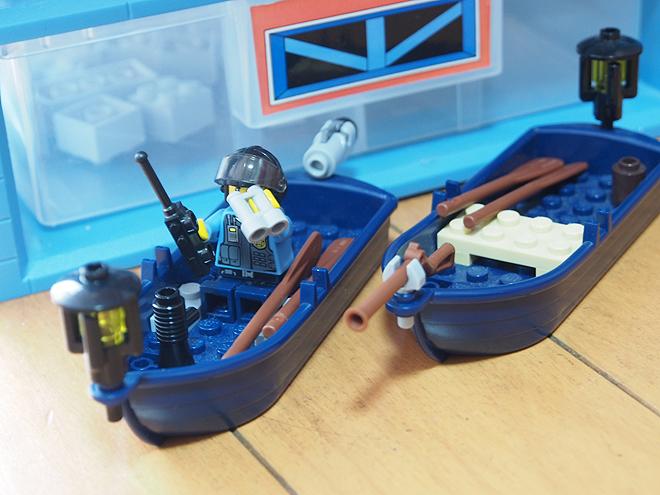 待機中のボート