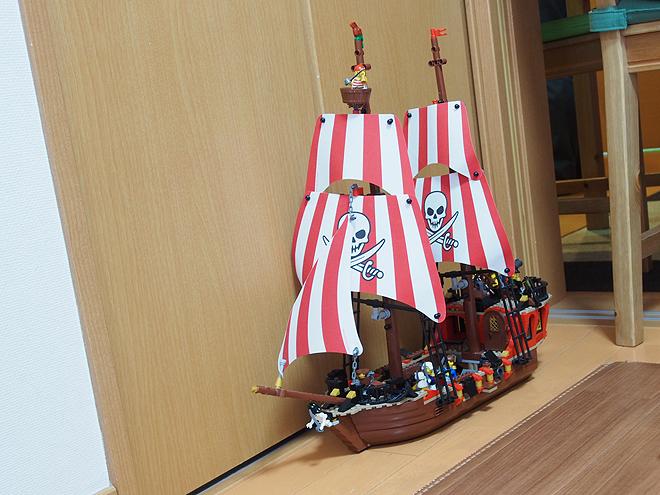 レゴ海賊船