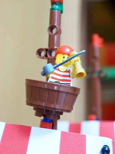 海賊船発見