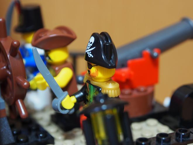 海賊船船長