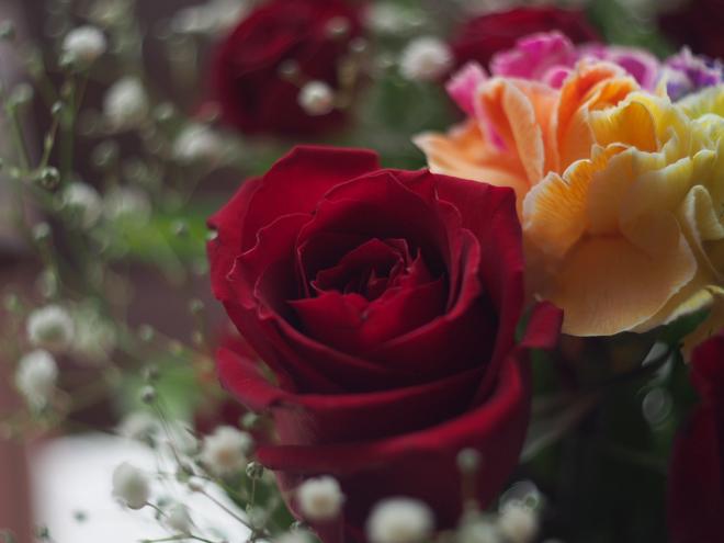 バラももらった