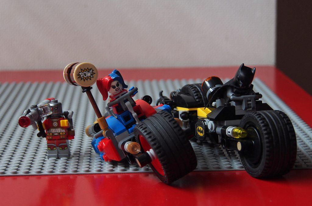 レゴ、バットマンのバイクたち