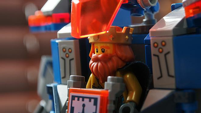 ハルバート王が乗ってる