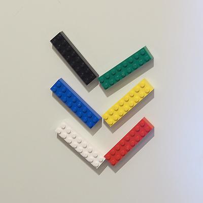 玄関のレゴ、ダブル