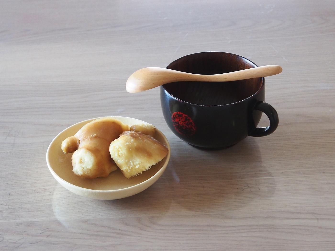 しょうが、梅しょう番茶を作った