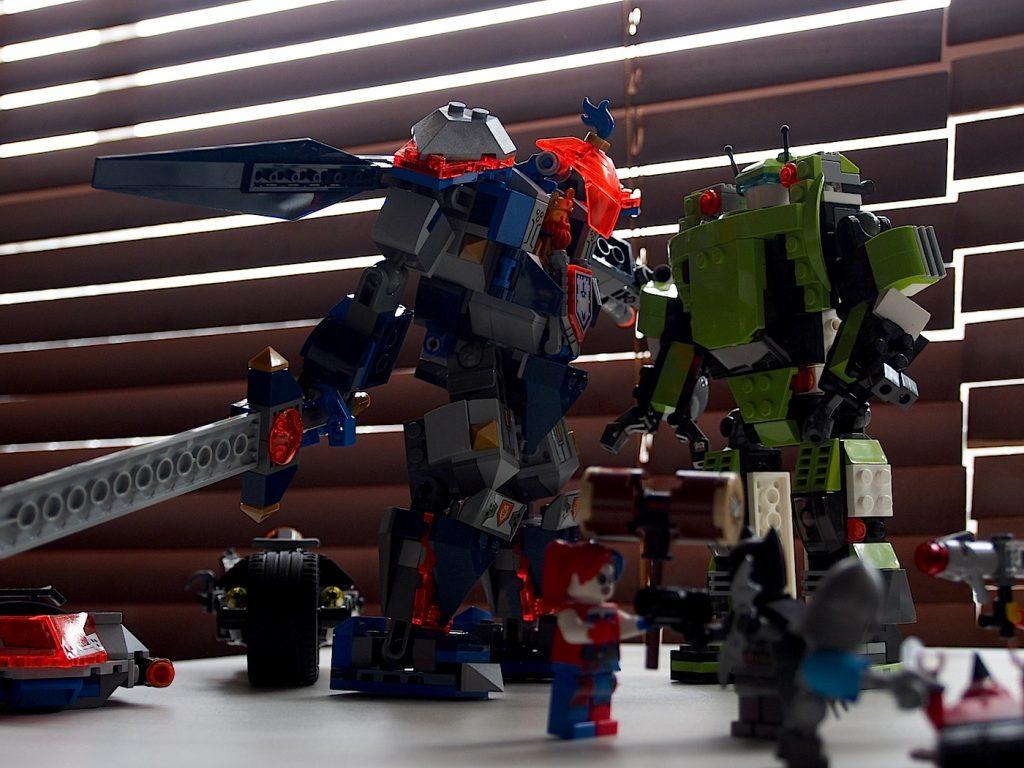 バトルメカとロボット