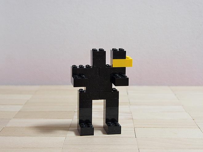 黒いロボット