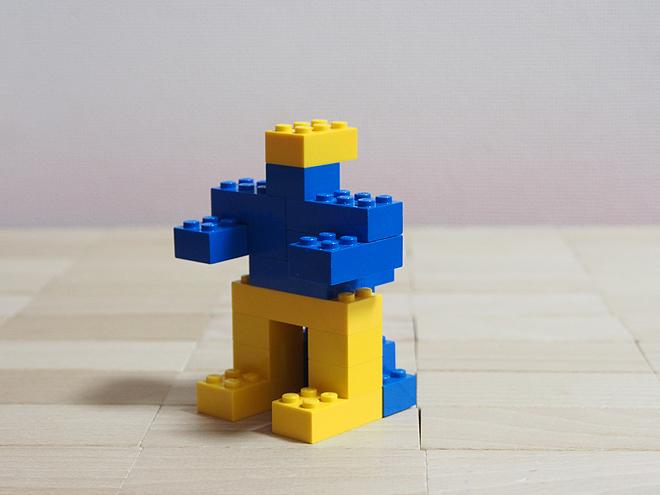 青いしっぽの戦士