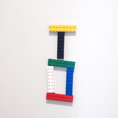 玄関レゴ、カブトムシ