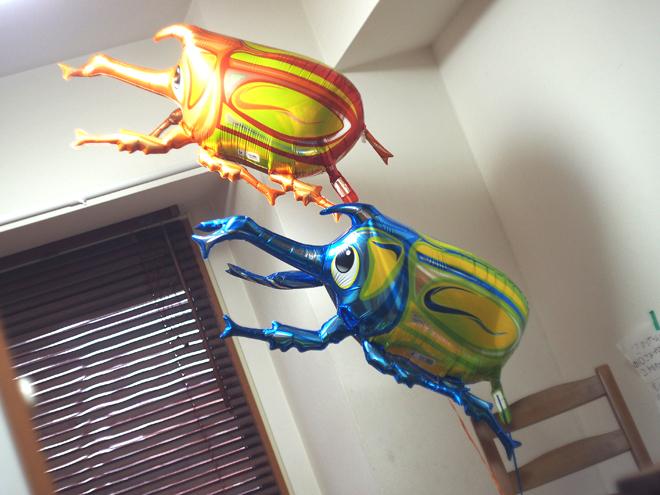 サプライズ風船