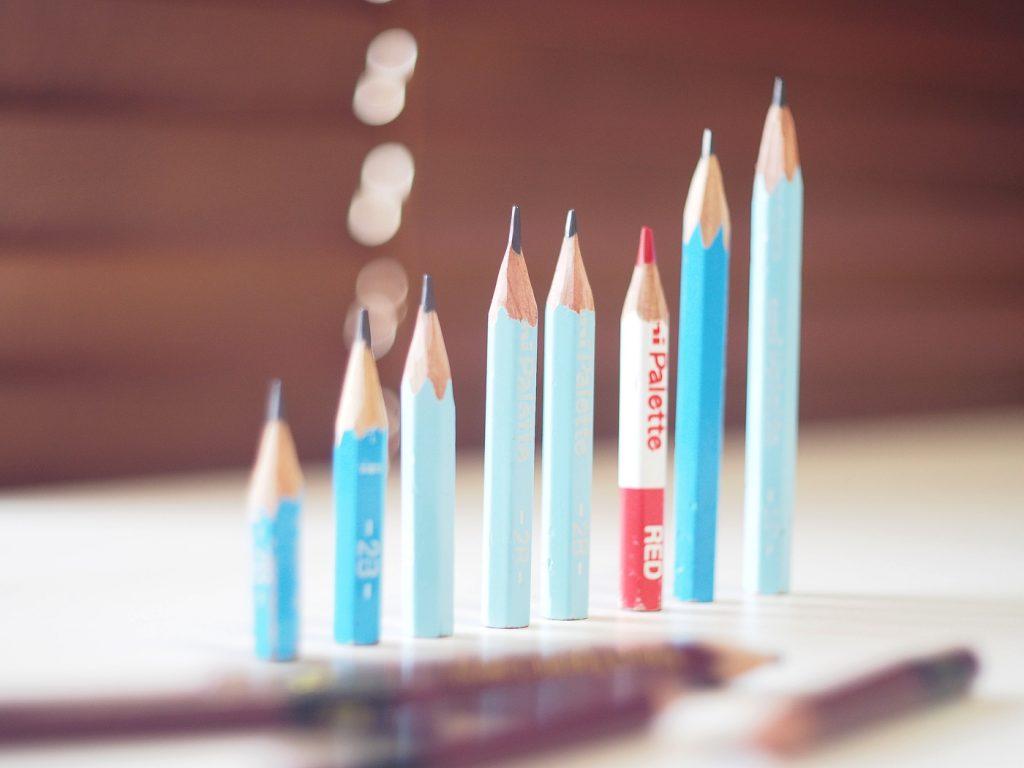 小さい鉛筆