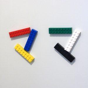 マグネットのレゴ、「ママ」
