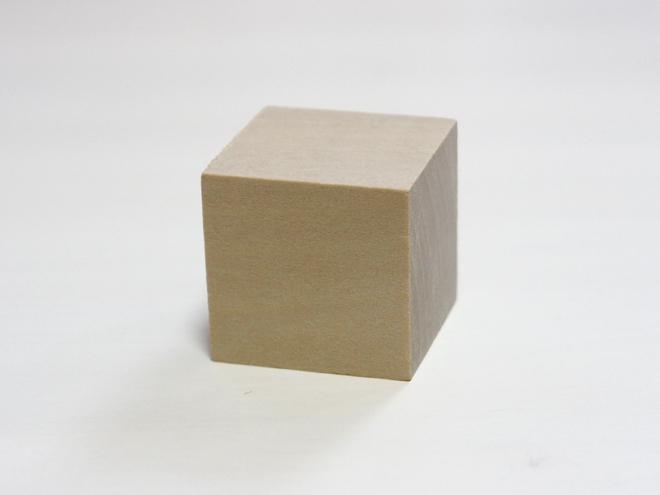 木片、立方体