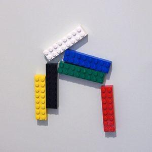 玄関レゴ、馬