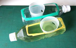 メダカのペットボトル水槽