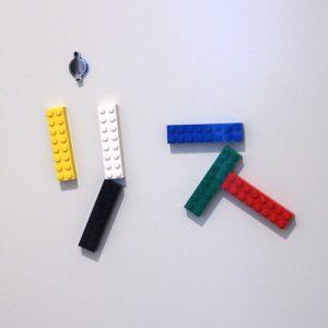 玄関のレゴ、リス