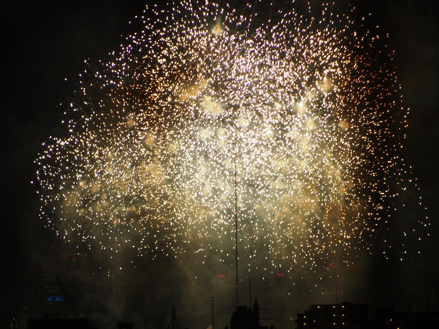 平和記念の花火1