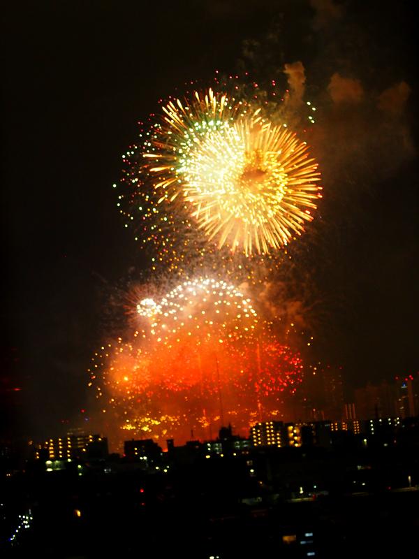 平和記念の花火3