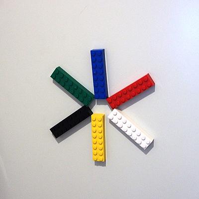 玄関、レゴ、マグネット、花火